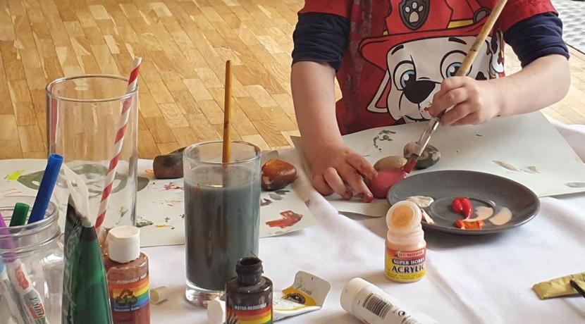 Half term sorted with October Art Camp at Worcester Arts Workshop