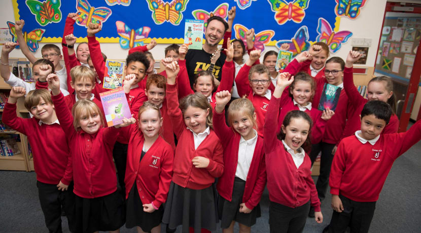 Literary Festival works with Stratford's young people in a big reading initiative