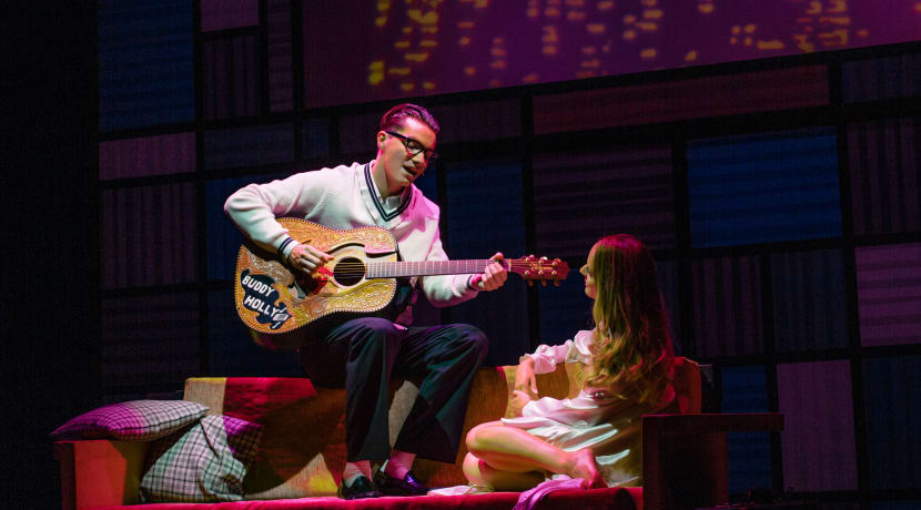 Oh Boy! Birmingham-born AJ Jenks co-stars in Buddy – The Buddy Holly Story
