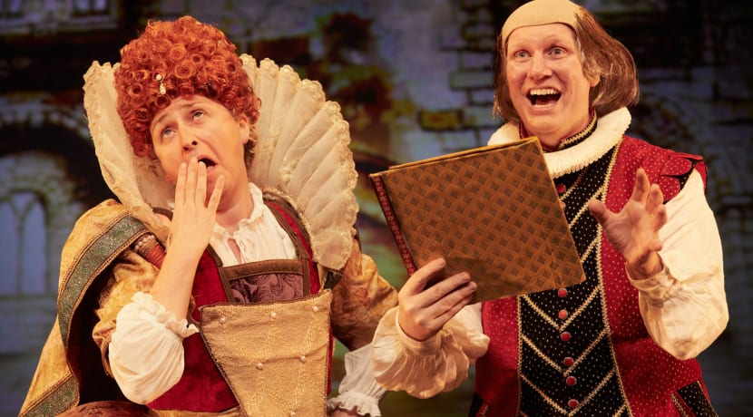 A night at the theatre for local families in need with Horrible Histories