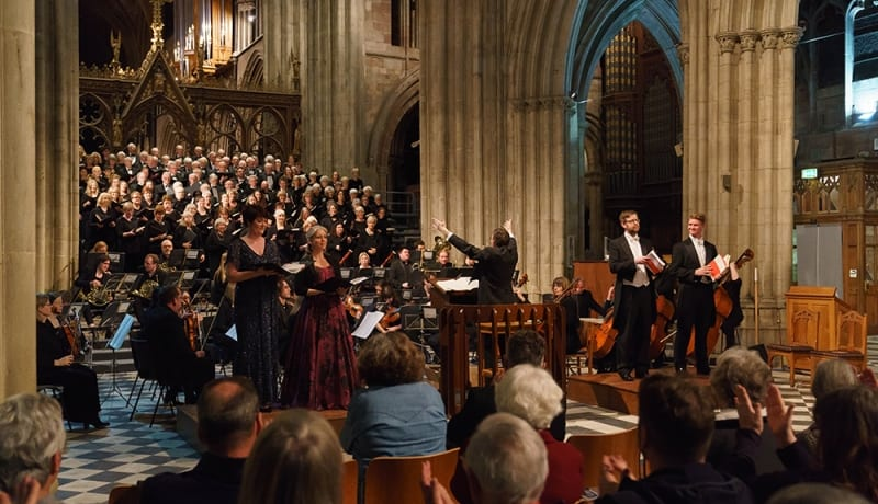 Mozart epic to be performed in Worcester Cathedral