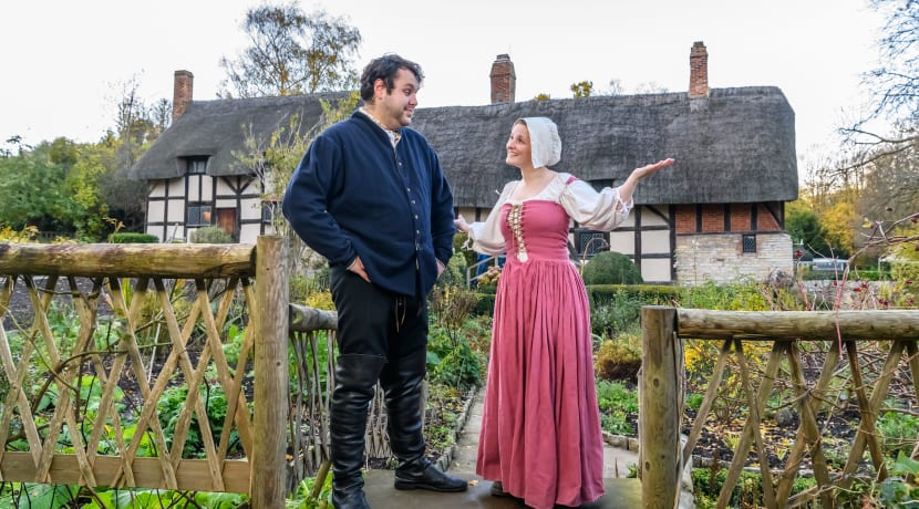 Actors to bring Shakespeare and Hathaway back to life this Christmas