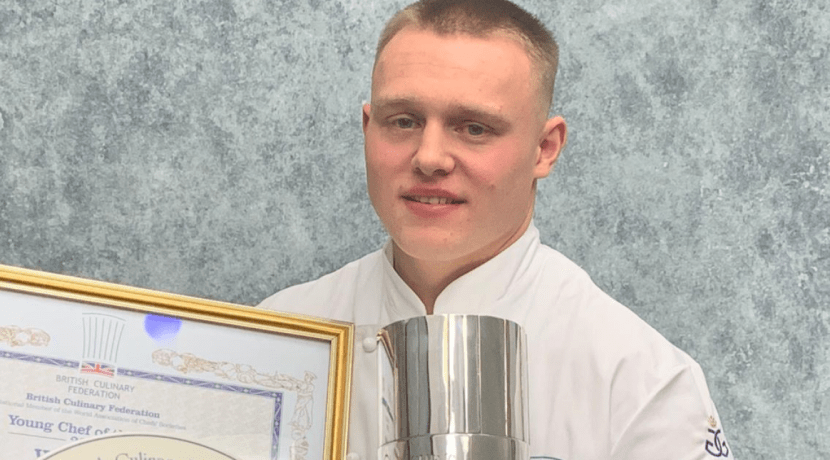 Young Kenilworth chef receives prestigious award