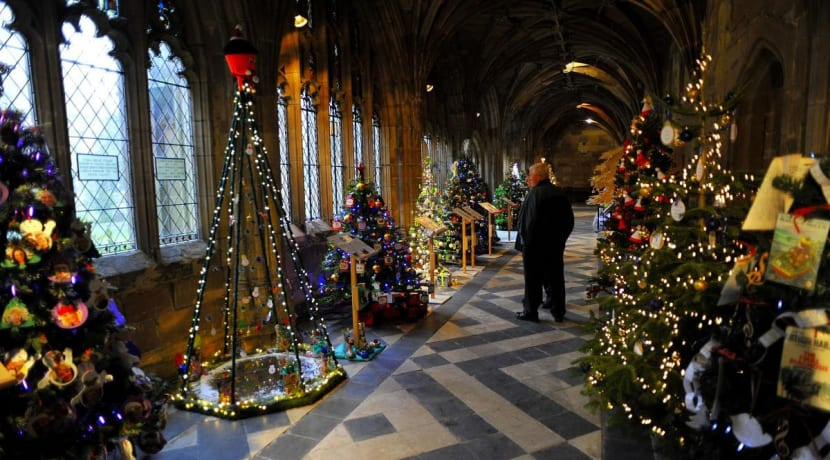 Christmas Tree Festival to open in Redditch town centre