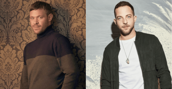 Will Young and James Morrison announce co-headline Forest Live summer gigs