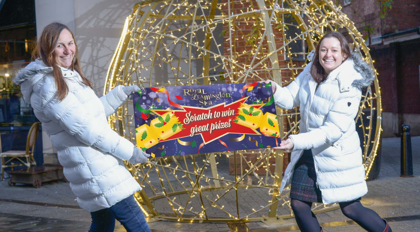 Christmas cracker for Leamington shoppers