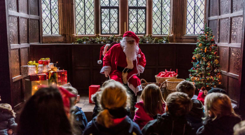 Christmas comes to Kenilworth Castle