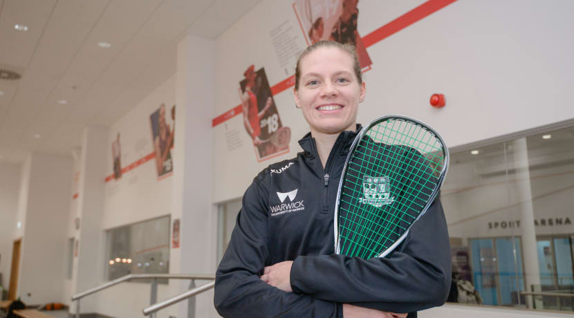 Kenilworth's own world squash star honoured with mural