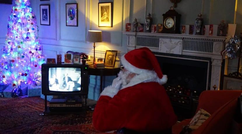 Enjoy a retro Christmas at Hanbury Hall