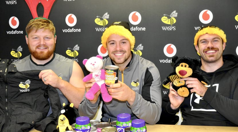 "Wasps launch '12 Days of Waspsmas"" community initiative"