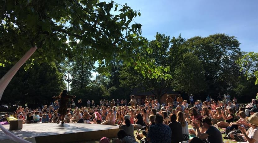 RSC amateur and professional theatre groups to perform on special open air stage