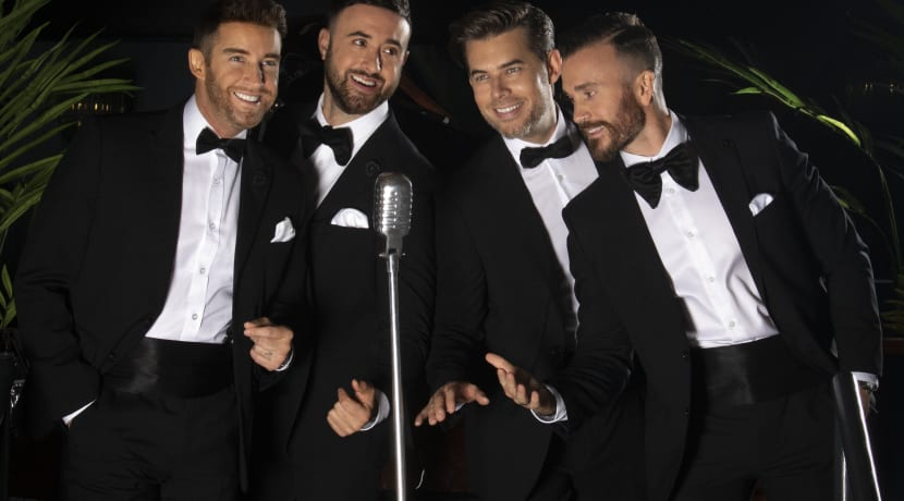 Multi-platinum selling vocal harmony group The Overtones come to Stoke