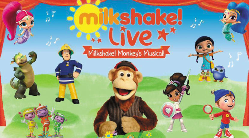 Much-loved characters from TV'S Milkshake visits Malvern