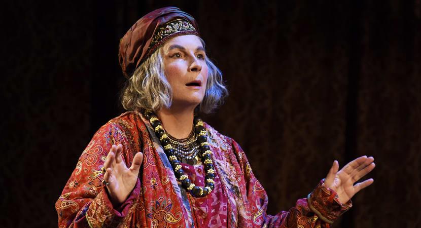 Popular comic actress stars in Noel Coward play in Malvern