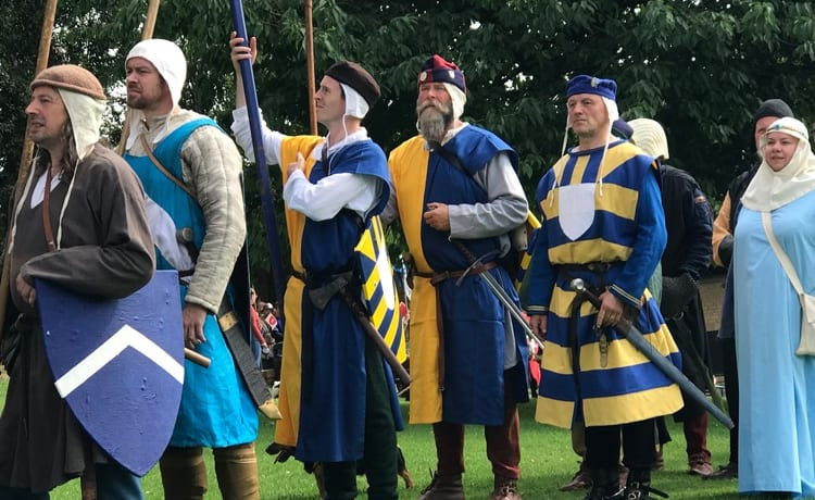 Weekend of activities to raise funds for Battle of Evesham