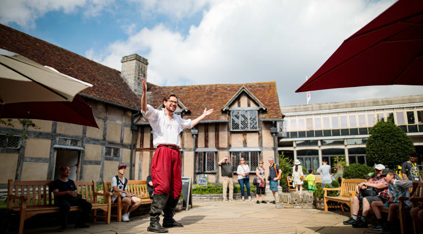 What's On at the Shakespeare Family Homes