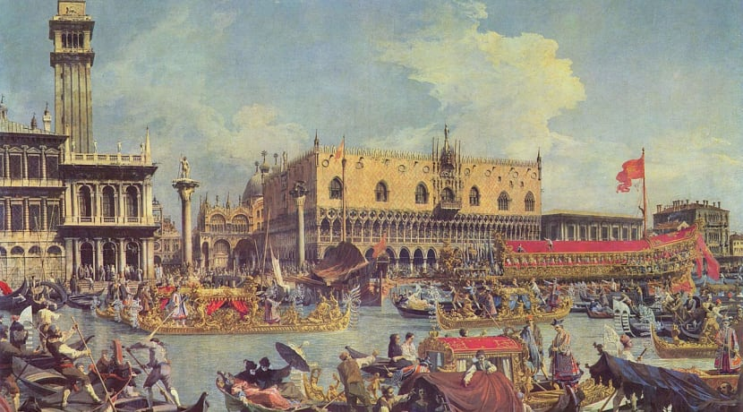 Visiting Venice with The Gonzaga Band playing just three cornetti
