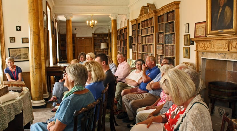 Hartlebury Castle's Hurd Library offers tours this month