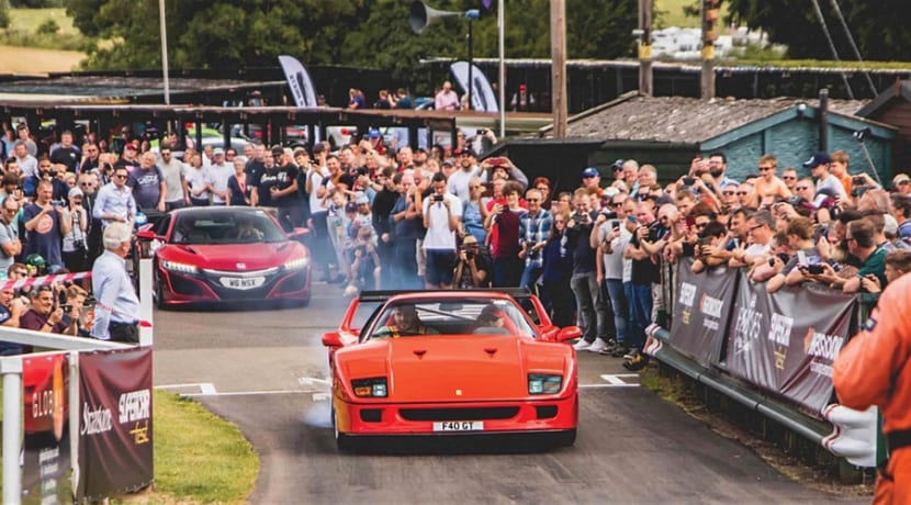 Supercar festival returns to Worcestershire