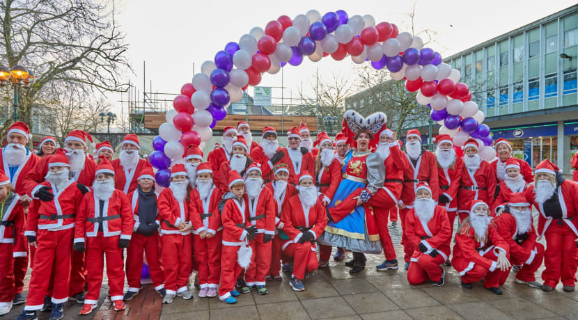 Solihull's first ever Jingle Bell Jog raises £2,000 for homelessness charity