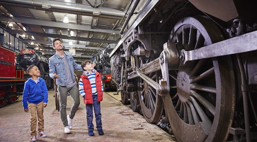 February half term fun at the Severn Valley Railway