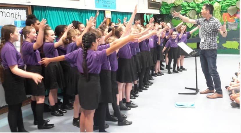 Primary schools offered FREE choir workshops & performance at award winning Warwickshire festival
