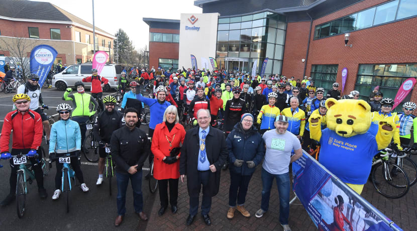 Charity cycle ride on track for biggest ever year with under a month to go