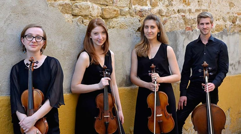 Leamington debut for BBC New Generation Artists Quartet