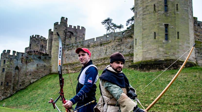 Medieval vs Team GB Archery - Archery Past & Present at Warwick Castle
