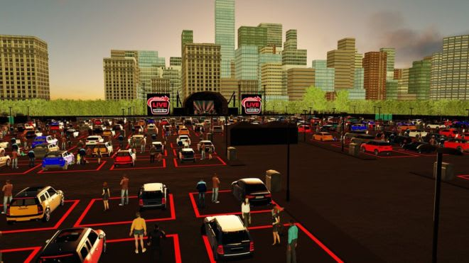 Series of drive-in gigs to take place at Resorts World Arena this summer