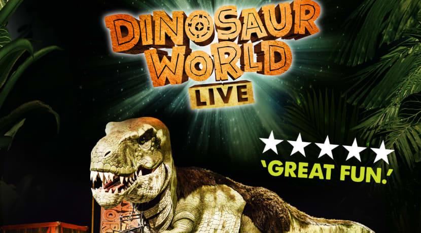 Dinosaur World Live announced for drive-in series at Resorts World Arena