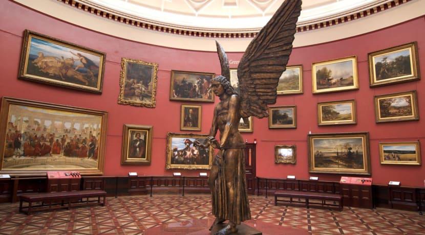 Birmingham Museum & Art Gallery spotlight on security staff during lockdown