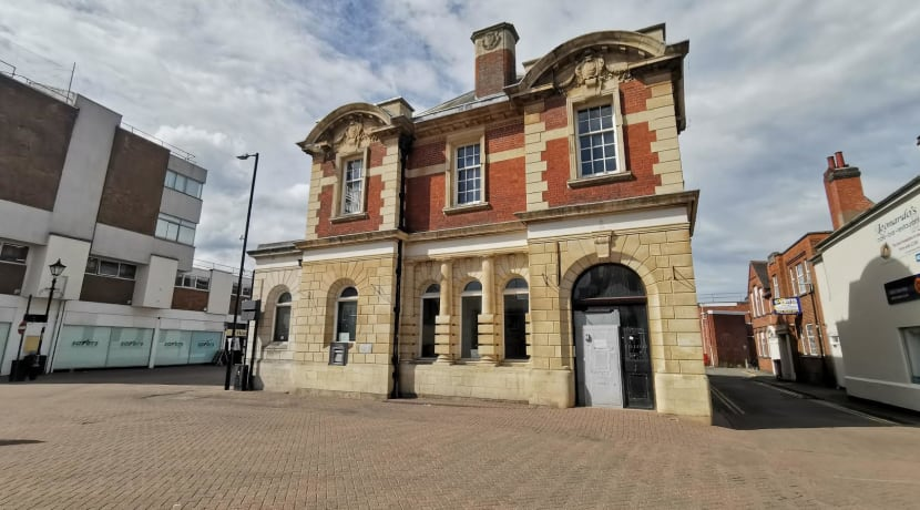 Listed Nuneaton building available - and could be ripe for redevelopment