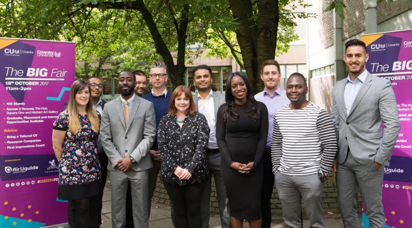 Coventry University hosts huge Careers Fair
