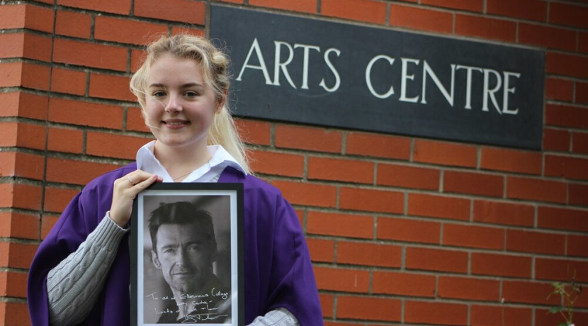 Hollywood's Hugh Jackman send his support to Ellesmere College Arts Centre