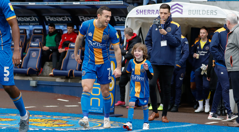 Chance to be match day mascot as Shrewsbury Town take on Liverpool FC