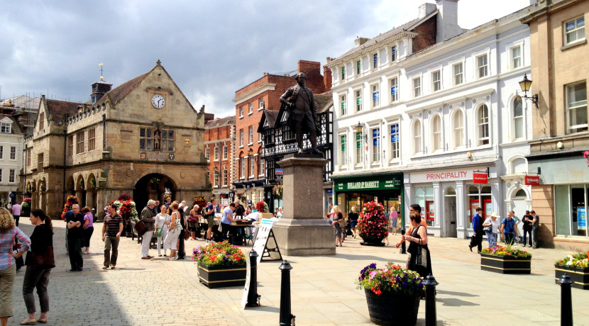 Shrewsbury yet again named one of the best places to live in the UK