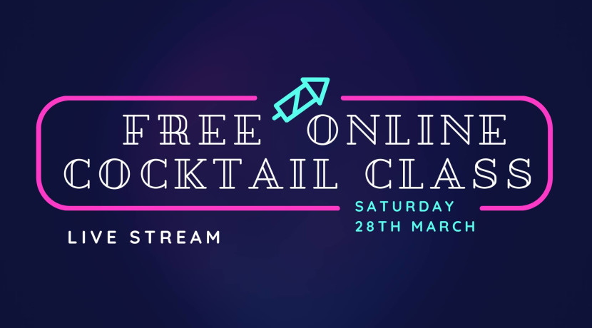 Live streamed free cocktail class from The ALB Shrewsbury
