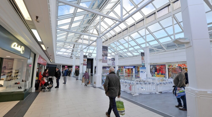 Glass-roofed restaurant planned for Shrewsbury's shopping centre refurbishment
