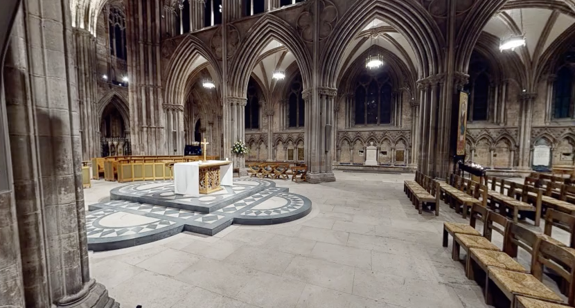 Check out Lichfield Cathedral's virtual tour