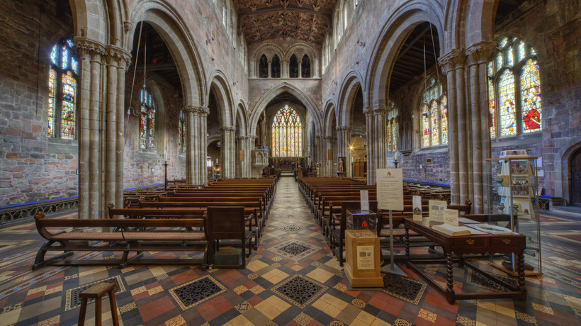 Government funding to help historic Shrewsbury church