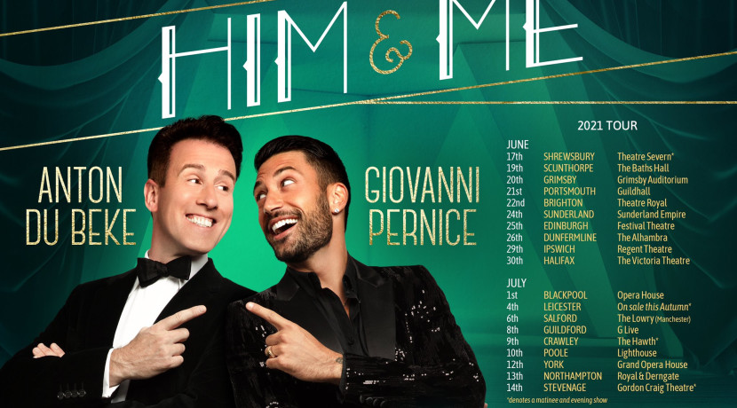 Strictly favourites Anton and Giovanni open new 2021 tour in Shropshire theatre