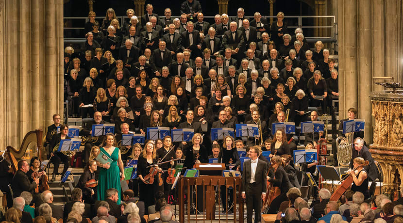 Choral blockbuster returns to Worcester