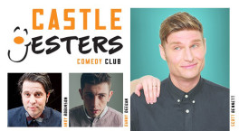 Weekend laughs at Shrewsbury Castle comedy night