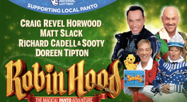 All-new production of Robin Hood takes to the stage at The Alexandra in January
