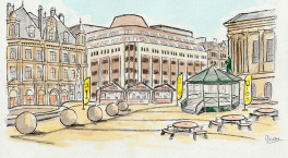 Summer of fun announced for Victoria Square as Colmore BID unveils outdoor seating scheme