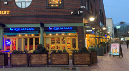 Las Iguanas opens its doors for outdoor dining in Brindleyplace