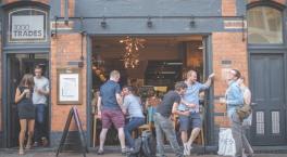 Wine and dine in Birmingham's Jewellery Quarter