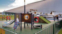 New outdoor playground ready for take-off at RAF Museum Cosford