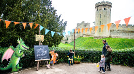 Join Zog the dragon for an overnight adventure at Warwick Castle